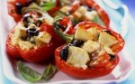 Apple and Feta-baked peppers