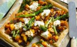 Pumpkin and broccoli tart