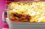 Fast vegetarian lasagne