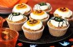 Halloween carrot muffins
