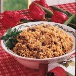 Mushroom Pasta Pilaf Recipe