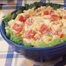 Macaroni Medley Salad Recipe