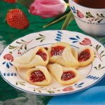 Strawberry Wedding Bell Cookies Recipe