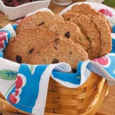 Giant Cherry Oatmeal Cookies Recipe