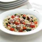 Mediterranean Pork and Orzo Recipe
