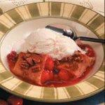 Saucy Cherry Enchiladas Recipe