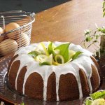 Fluted Lemon Cake Recipe