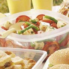 Green Bean and Mozzarella Salad Recipe