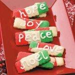 Marbled Greeting Cookies Recipe