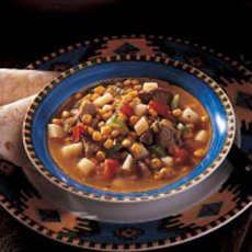 Pueblo Green Chili Stew Recipe
