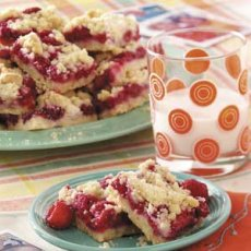 Raspberry Patch Crumb Bars Recipe