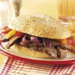 Flank Steak Sandwiches Recipe