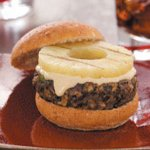 Grilled Black Bean and Pineapple Burgers Recipe