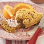 Pumpkin Scones with Berry Butter Recipe