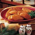 Crumb-Coated Potato Halves Recipe