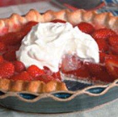 Fresh Strawberry Pie I