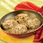 Mushroom-Smothered Beef Burgers