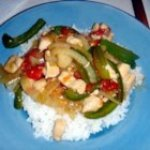 Chicken Pepper Steak
