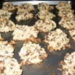 Almond Chocolate Coconut Cookies I