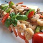 Garlic Balsamic Shrimp