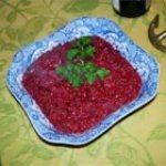 Beet and Pear Puree