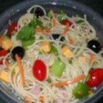 Cold Spaghetti Salad