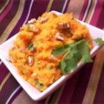 Mashed Jalapeno-Cilantro Sweet Potatoes