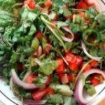 James' Fire Salad