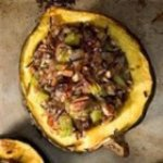 Wild Rice Stuffed Acorn Squash