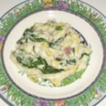 Spinach and Sweet Corn Mashed Potatoes