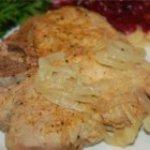 Easy Caramelized Onion Pork Chops