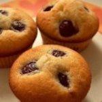 Cherry Vanilla Chip Muffins