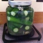Ukrainian Dill and Garlic Pickles