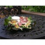 Bacon Blue Cheese Flat Iron Salad