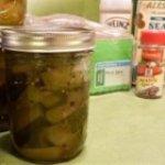 Sweet Chunk Zucchini Pickles