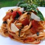 Peppered Bacon and Tomato Linguine