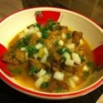 Tunisian Lamb with Saffron (Keleya Zaara)