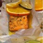 Citrus Salmon in Parchment