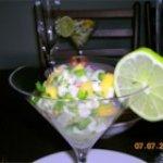 Halibut-Mango Ceviche