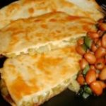 Tortillas with Cactus and Cheese