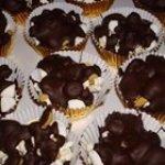 Rocky Road Popcorn Truffles