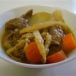 Beef Curry Soup