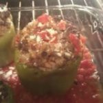 Stuffed Bell Peppers, Greek Style