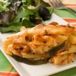 Eggplant-Ziti Parmesan