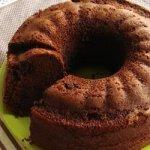 Chocolate Cherry Chip Cake