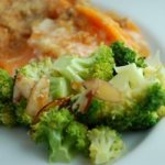 Broccoli With Lemon Almond Butter