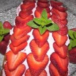 Filled Strawberry Bread