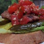 Mexican Turkey Burgers with Pico de Gallo
