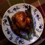Cornish Hens with Coffee Liqueur Sauce