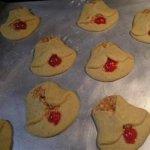 Cherry Bell Cookies